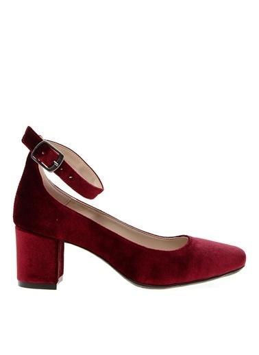 Black Pepper Topuklu Ayakkabı Bordo